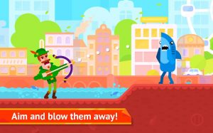 Bowmasters Mod APK (Unlimited Coins And Money) 4