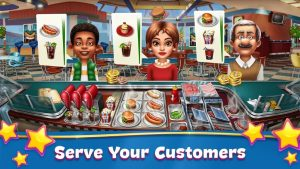 Cooking Fever Mod APK (Unlimited Gems, Coins, Gold) 1