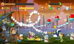 Swamp Attack Mod APK (Unlimited Money + Coins +Gold + Energy) 2
