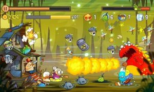 Swamp Attack Mod APK (Unlimited Money + Coins +Gold + Energy) 4