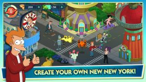 Download Futurama: Worlds of Tomorrow mod APK 2021 ( Free Store) free on android 2