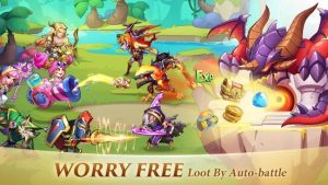 Download Idle Heroes Mod Apk 1.19.0.p3 Unlimited Gems, Coins (2021) 3