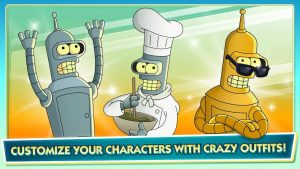 Download Futurama: Worlds of Tomorrow mod APK 2021 ( Free Store) free on android 3