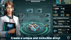 Art of War 3 Mod Apk v1.0.88 Hacked For Money + Gold And Energy + Free Shopping (2021) 4