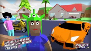 Dude Theft Wars MOD APK 0.9.0.1 (Free shopping) latest 2021 4