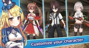Gate of Mobius MOD APK (2021) v1.0 (Unlimited Resources) 4
