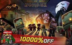 Download Call of Mini: Zombies 2021 (MOD, God Mode) free on android 1
