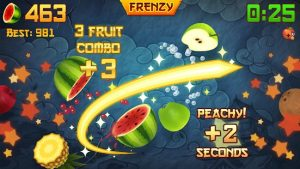 Download Fruit Ninja  (MOD, Unlimited Money) free on android 1