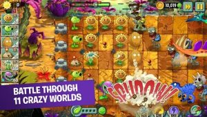 Download Plants vs Zombies 2 (MOD, Unlimited Coins/Gems) 2021 free on android 1