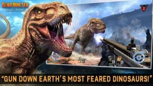 Download DINO HUNTER: DEADLY SHORES 2021 (MOD, Unlimited Money) free on android 2
