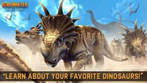 Download DINO HUNTER: DEADLY SHORES 2021 (MOD, Unlimited Money) free on android 4