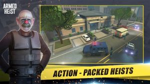 Download Armed Heist 2021 (MOD, Immortality) 2.4.2 free on android 1