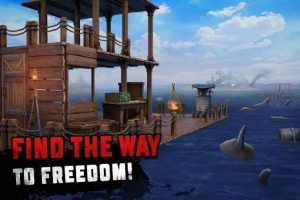 Download Raft Survival: Ocean Nomad mod APK 2021 (Unlimited Coins) 1.181 free on android 3